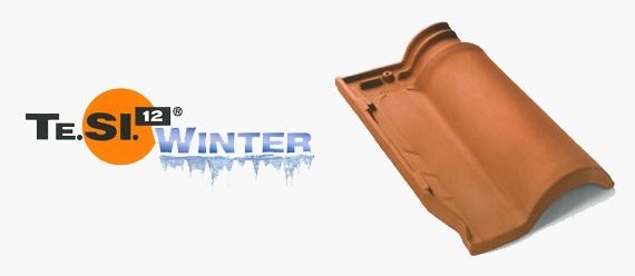 Tigla ceramica italiana Te.SI Winter. Cotto Possagno