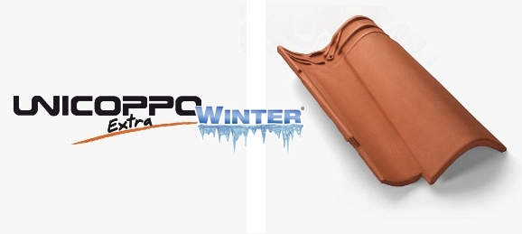Tigla ceramica tip olan UNICOPPO Extra Winter