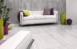 Gresie Pastorelli Tibur Bianco ambient 40x80